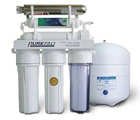 Purepro 174 Usa Reverse Osmosis Ro Uv Water Filters Ec105uv